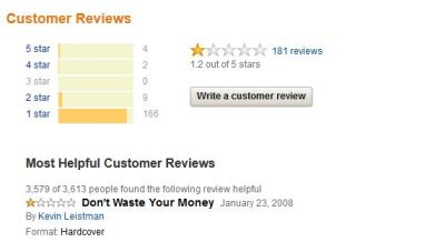 User Reviews for Link on Amazon