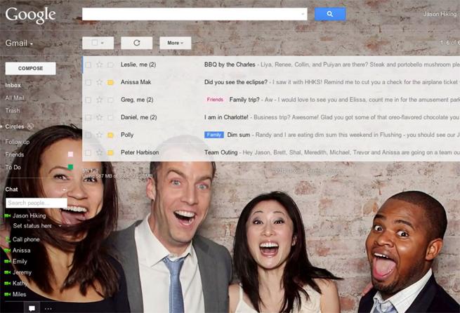 gmail-google-customization