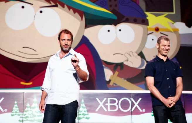 Trey Parker and Matt Stone at Microsoft E3 2012 Media Briefing