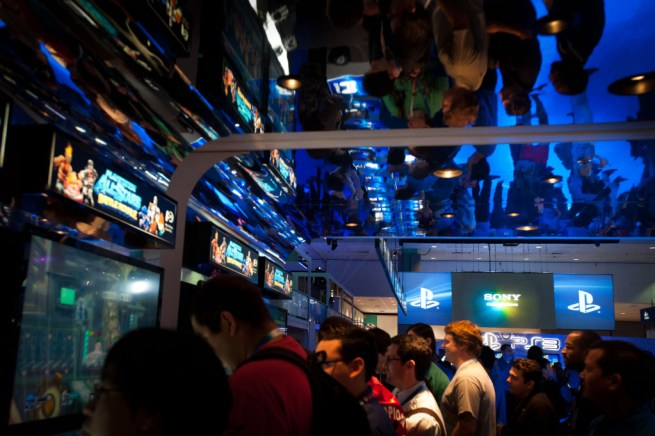 E3 - Sony booth