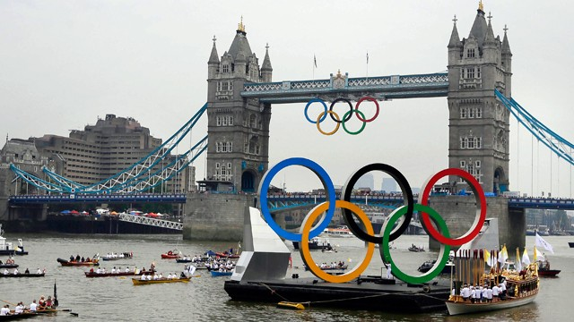 The summer Olympics in London