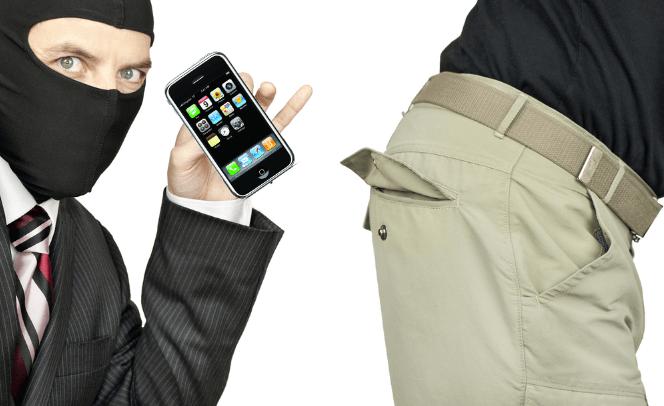 Bad guy steals phone
