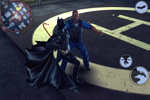 The Dark Knight Rises fight