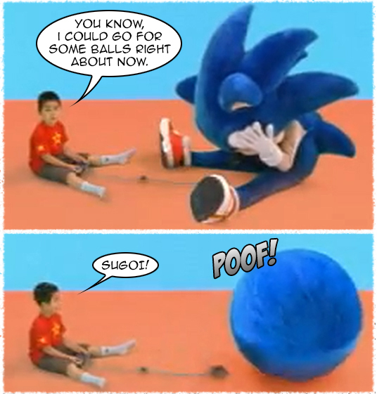 Sonic Pinball Party ad 2