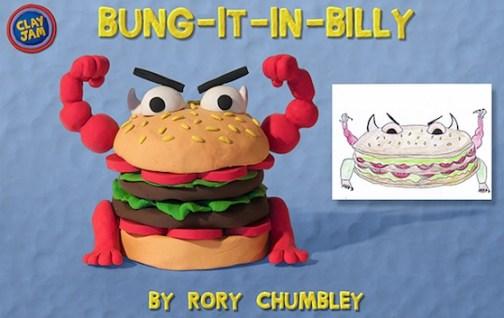 Clay Jam: Bung-it-in-billy boss
