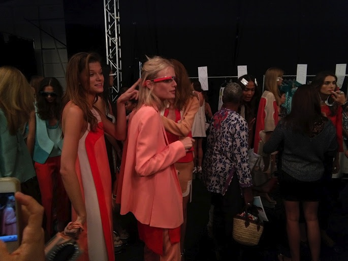 DVF Google Project Glass