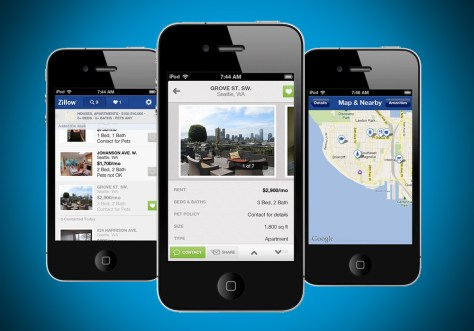 Image result for zillow mobile app