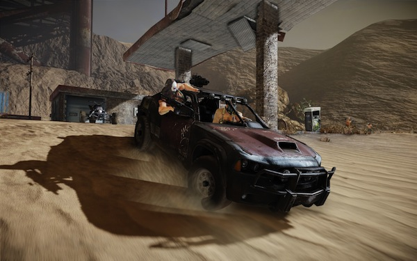 Ravaged Charger vehicle