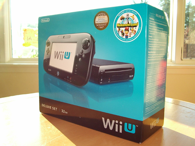 Whats In The Box Nintendo Wii U Deluxe Edition And Pro