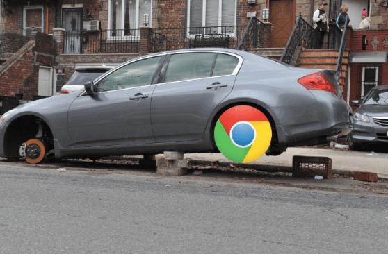 Chrome crashed