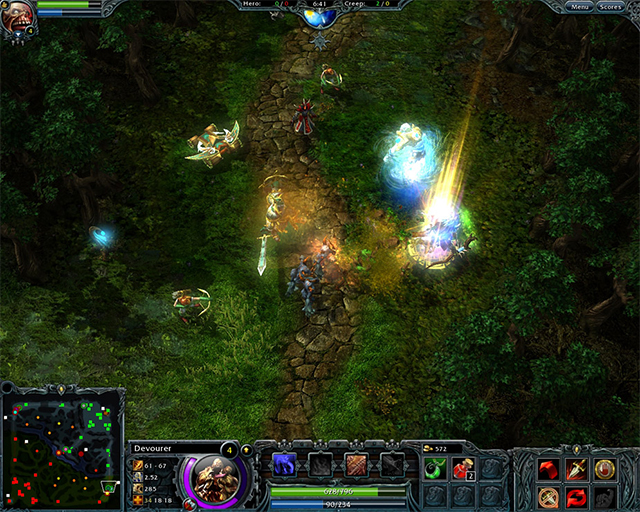 Comparing MOBAs Dota 2 Vs League Of Legends Vs Heroes
