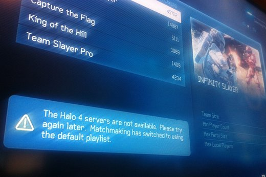 Halo 4 servers