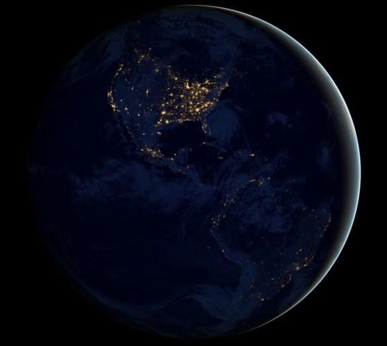 nasa-night-time-earth