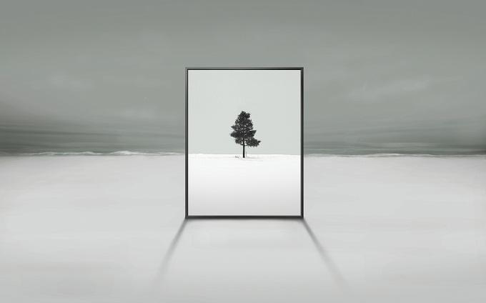 Samsung Transparent screen