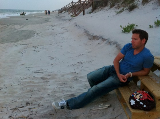 Cliff Bleszinski - beach 2