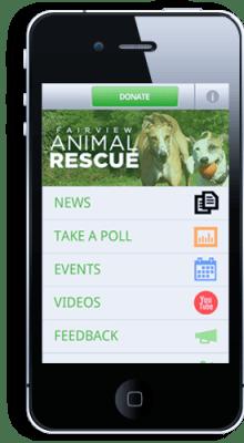 raz mobile screenshot
