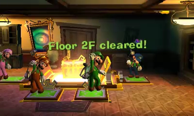 Luigi's Mansion Dark Moon Play Locally or Online with up to Four Friends
