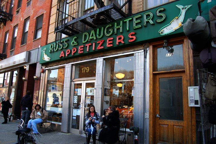 local business russ and daughters nyc
