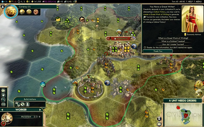 Civ V Brave New World Great Writer
