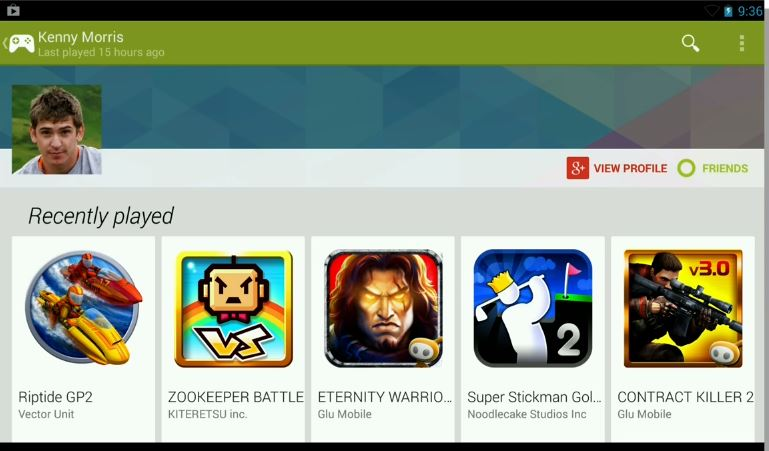 New Google Play Games App Centralizes Multiplayer And More