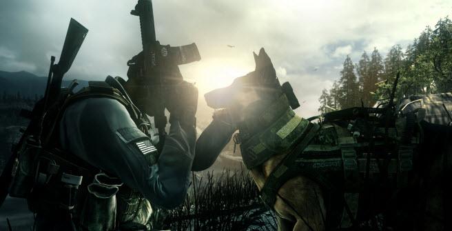 Call of Duty: Ghosts. Good boy.