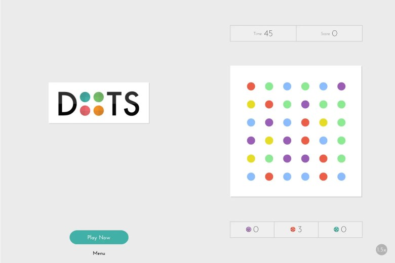780 Credit Score >> iOS puzzler Dots now available for Android and Kindle Fire | GamesBeat | Games | by Jeff Grubb