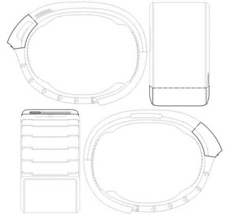 Samsung filed patents in the U.S. and Korea for its smartwatch