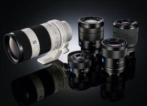 New Sony lenses