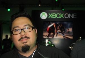 P.J. Esteves of Crytek, maker of Ryse: Son of Rome