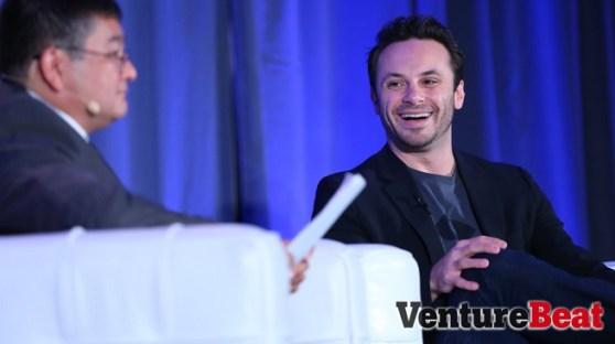 Brendan Iribe, CEO of Oculus VR.