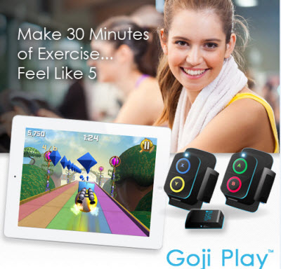 Goji Play is aimed at a broad swath of the population, not just gamers.