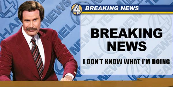 Anchorman breaking news