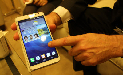 Huawei's latest phablet, or phone and tablet.