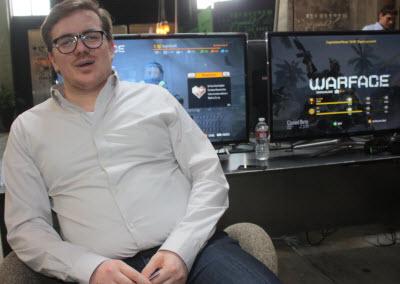 Wim Covaliers of Crytek Ukraine
