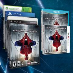 An add for The Amazing Spider-Man 2 from earlier this month that didn't feature the Xbox One box art.