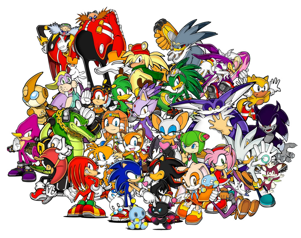 Sonic Fall November Wallpaper Sonic S Lamest And Most Forgotten Sidekicks And Rivals