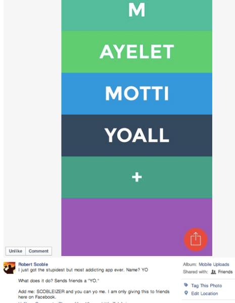 Scoble FB status