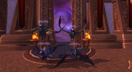 Warcraft challenge mode Pandaren Phoenix mounts
