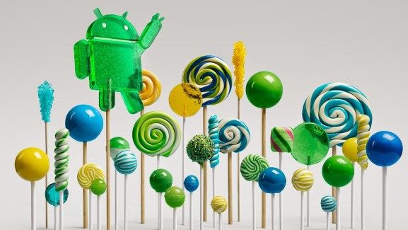 Lollipop Forest Google Android