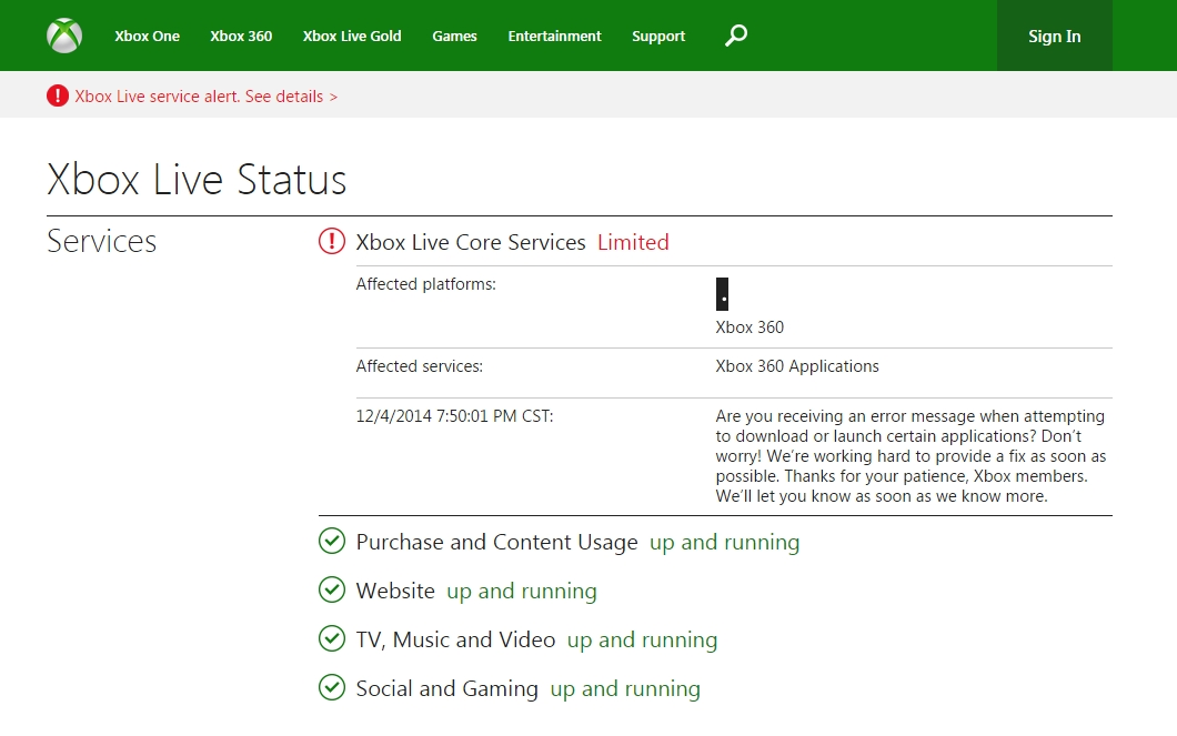 Xbox Live Having Issues Hackers Take Credit Again