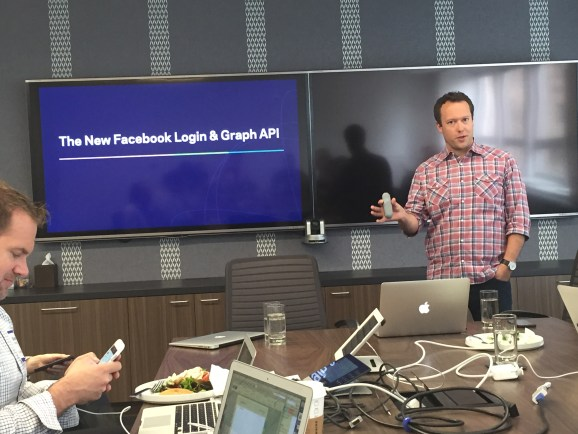 Facebook product manager Simon Cross.