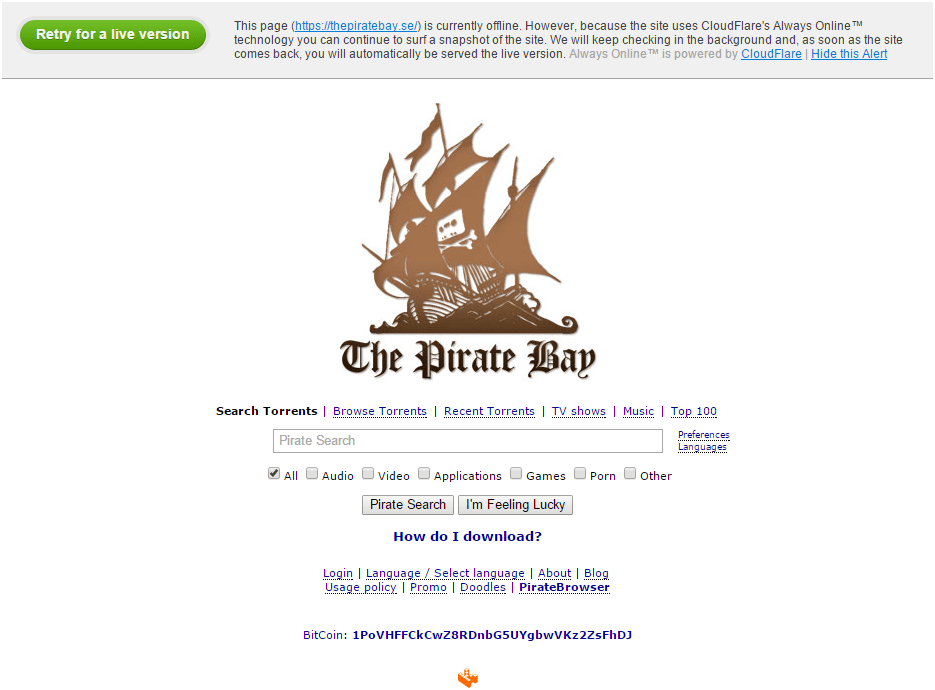 the_pirate_bay_down_cloudflare
