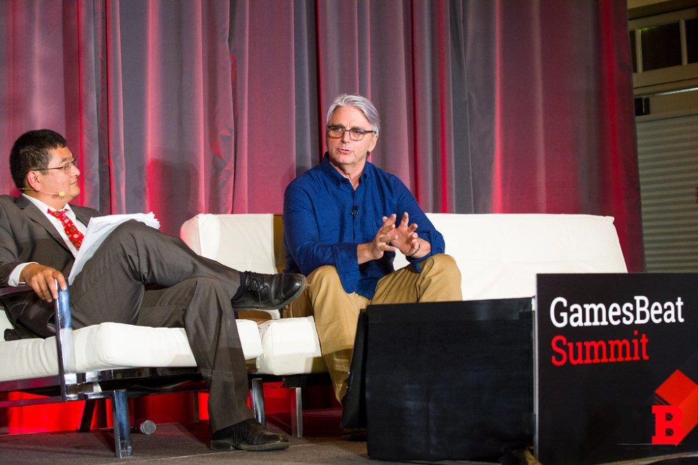 At the GamesBeat Summit, John Riccitiello suggested that Microsoft's broader entertainment focus was short-sighted compared to Sony's gamer-based approach.