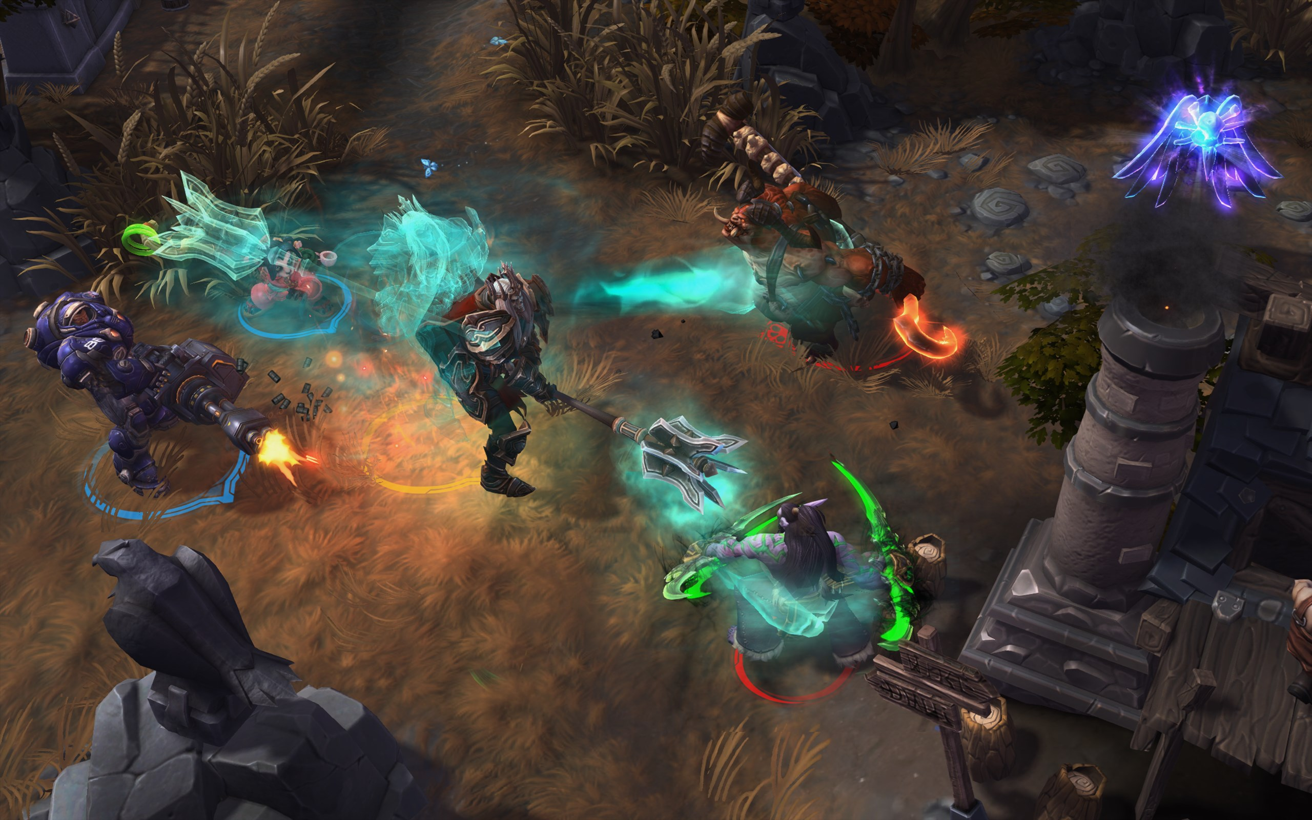 Heroes Of The Storm Devs On The MOBAs Future New Heroes