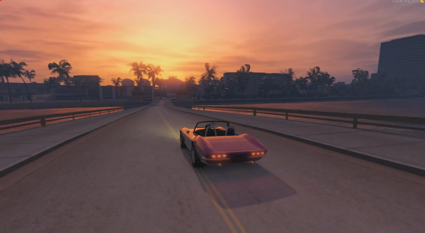 Vice City Map Converted Into Grand Theft Auto V Gamesbeat