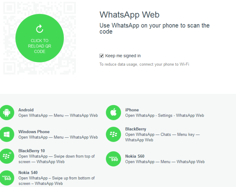 WhatsApp for Web: Now on iPhone