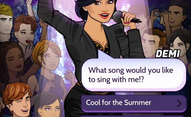 Pocket Gems Launches Demi Lovato Interactive Story Inside