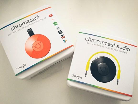 Google Chromecast 2 and Chromecast Audio