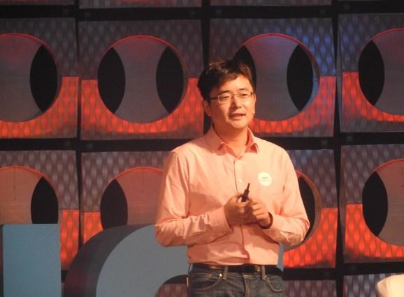 Sheng Fu, CEO of Cheetah Mobile.