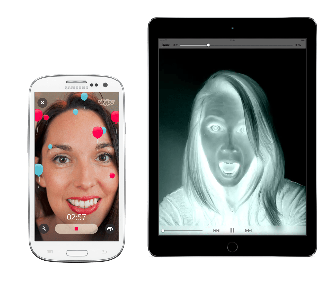 Skype for Android and iOS gets video filters 3D Touch ...